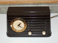 Telecgron Bakelite Clock Radio - Model SH69