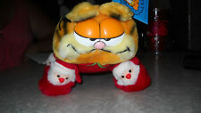 Garfield Santa Slippers Plush Toy