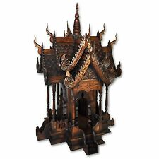 Geisterhaus Phayao Thailand Schrein Altar Buddha Tempel Feng Shui (19094)