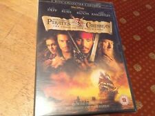 Sealed new 2 DVD set pirates of the Caribbean johnny deep Orlando bloom