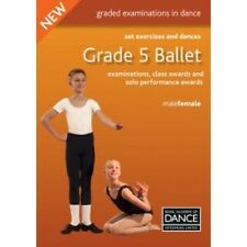 RAD Royal Academy Of Dance Grade 5 Ballet Set Exercises & Dances Exam Book