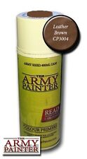 The Army Painter - Color primer Leather brown - 400ml