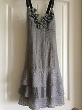 COP COPINE Dress GREY sz 38 (S) EXCELLENT