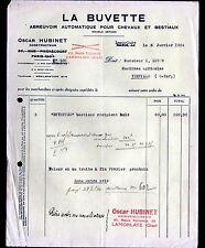 """LAMORLAYE (60) MATERIEL pour ELEVAGE / ABREUVOIRS """"Oscar HUBINET"""" en 1934"""