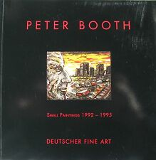 """PETER BOOTH AUSTRALIAN """"SMALL PAINTINGS"""" CATALOGUE 1995 """"AS NEW"""""""
