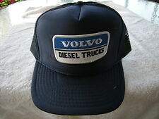 HAT VOLVO DIESEL TRUCKS, PATCH,ADJUSTABLE SNAPS COLOR NAVY BLUE