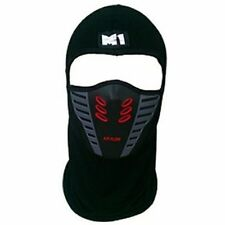 Face Mask Motorcycle Ski and Snowboard Filter Air Flow ATV Motorcycle Red-Black