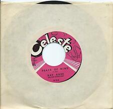 Ray Agee:Peace of mind/Faith:US Celeste:Northern Soul