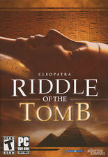 RIDDLE OF THE TOMB Egypt Adventure PC Game XP/Vista NEW