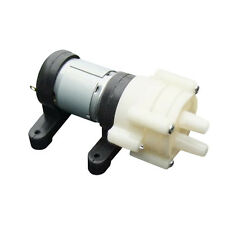 R385 Pump&base Aquarium Fish Tank Water Air Diaphragm Pump 1.5-2L/Min DC12V E