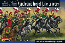 Black Powder Napoleonic French Line Lancers Cavalry Plastic boxed Warlord Games