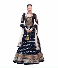 Ganga Stylish Designer Bollywood Party Wear Fancy Gown BLACK
