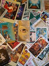 11 (Eleven) Mixed Tarot Cards *Thoth* VOYAGER Rider-Waite *Robin Wood* FUN!