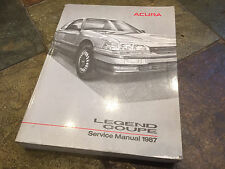 1987 Acura Legend Coupe Service Shop Repair Manual