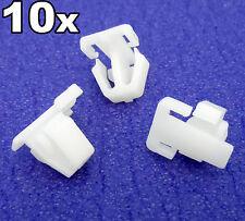 10x Honda Enjoliveur Plastique Clips Pour portière extérieur moulures latéral
