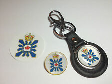 CANADIAN SECURITY INTELLIGENCE SERVICE:  KEY RING, BADGE &  FREE PHONE STICKER