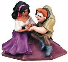 "WDCC ""Not a Single Monster Line"" Esmeralda&Quasimodo Hunchback of Notre Dame COA"