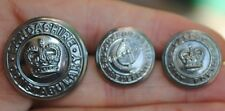 obsolete Lancashire / oxford  police buttons