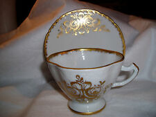 """Vtg LOT OF 12  France """"LIMOGES"""" """"ROYAL"""" China, Hand Painted 6 Cups and 6 Saucers"""