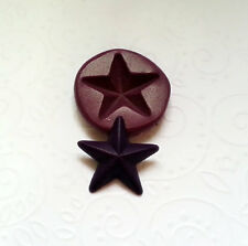 Silicone Mold Star Mould (22mm) Fondant Polymer Clay Chocolate Icing Candy
