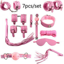 7pcs/set Sex Toy Under Bed Restraint System Fetish Kinky Cuffs Straps Bondage