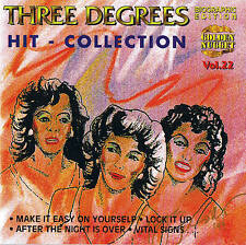 THREE DEGREES Hit - Collection CD NEW & ORIG. BOX Cosmus DSB