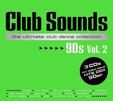 CLUB SOUNDS 90S,VOL.2 3 CD NEU