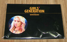 GIRLS' GENERATION Mr.Mr. SM LOTTE POP UP STORE GOODS HYOYEON BADGE PIN BUTTON