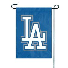 "MLB Los Angeles Dodgers Embroidered Garden Window FLAG NEW 15"" x 10.5"""