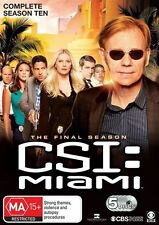CSI - Miami : Season 10 (DVD, 2013, 5-Disc Set)
