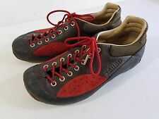 Tsubo Brown Red Suede Leather Sneaker Mens shoe size 9 10