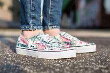 VANS Authentic (Tropical) Multi True White Classic Shoes WOMEN'S SIZE 10
