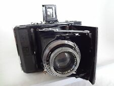 Rear! Zeiss Ikon Ikonta 520 w/70/3.5 Lens Spring Camera From Japan Exc Con 879C