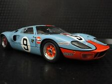GT40 1967 Ford Sport Car Race Concept GT Rare 1 Vintage Carousel Blue Model 18