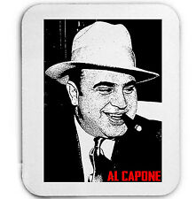 Al Capone Gangster-Tappetino mouse / pad AMAZING Design