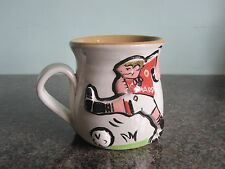 Pretty Ugly Pottery (Wales) - Manchester United - Footballer Mug #1