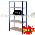 SUPER HEAVY DUTY SHELVING STORAGE RACKING WAREHOUSE GARAGE 1770x900x300mm 265KG