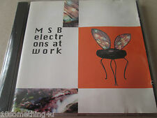 M.S.B. – Electrons At Work  CD NEW AND SEALED