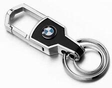 HQ Silbern BMW Metall + PU Autoschlüssel Schlüsselanhänger Schmuckanhänger Key