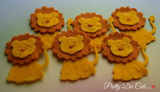 Felt Lions (pack of 6) Die Cut Craft Embellishments