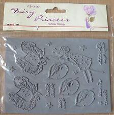 La ligne rouge rosetta fée princesse stamp set, rose