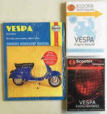 Vespa Models 1959-78 (Haynes) with Running Maintenance & Engine Rebuild DVDs