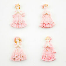 Lot of 24 pcs Quinceanera Sweet 15 Pink Miniature Figurines Cute Party Favors