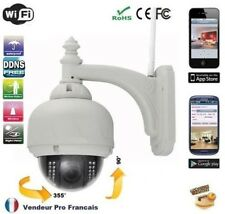 Camera IP CCTV Exterior watertight Dome without wire WIFI Smartphone Internet