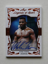 MIKE TYSON 2011 LEAF LEGENDS OF SPORT AUTOGRAPH AUTO 20/20 MINT