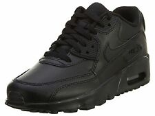 Nike Air Max 90 Ltr Gs Big Kids 833412-001 Black Athletic Shoes Youth Size 5.5