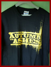 FROM AUTUMN TO ASHES - GRAPHIC T-SHIRT (L)  NEW & UNWORN