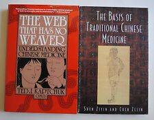 Lot of 2 - The Basis of Traditional Chinese Medicine & Web That Has No Weaver