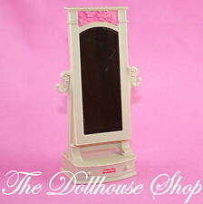NEW Bedroom Pretend Full-length Mirror Fisher Price Loving Family Dollhouse