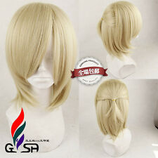 YURI on ICE Yuri Plisetsky Yurio Anime Costume Cosplay Wig +Track +Free Wig Cap